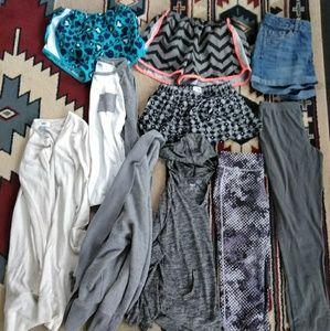 Bundle Mix of Girls Clothes Size L-XL